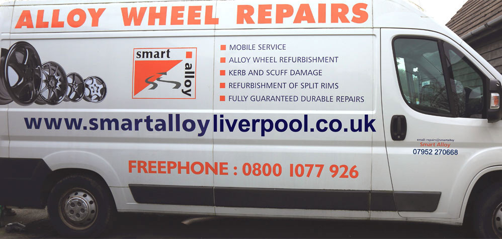 Quality mobile alloy wheel repair service